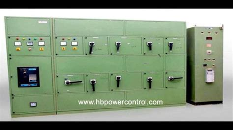 making  electrical control panel board ac drive amf
