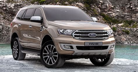 Thailand Launches 2019 Ford Everest With Raptor Power