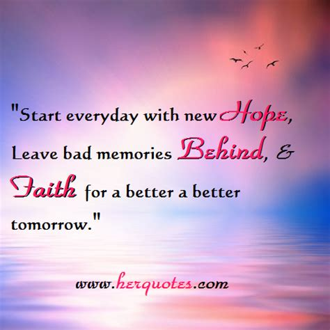 Better Hope Tomorrow Quotes