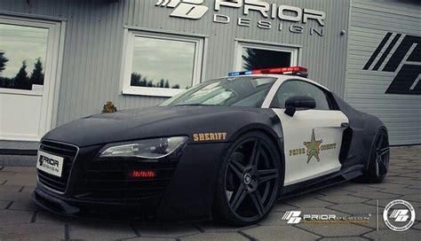 Audi R8 Police Car I Like