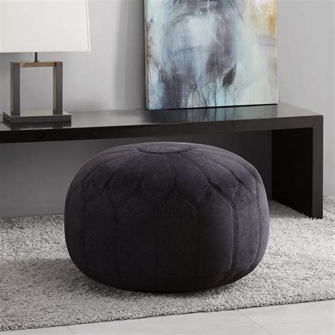 where to buy ottomans madison park kelsey round pouf ottoman ebay