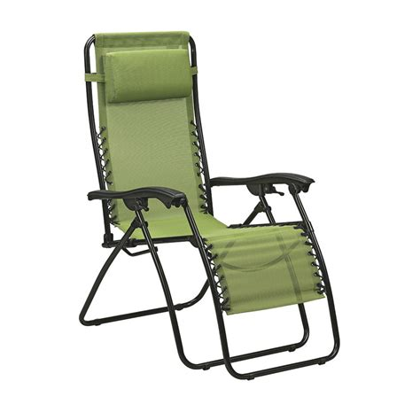 shop garden treasures steel folding chair at lowes