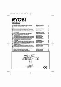 Ryobi Cdi 1803 Tools Download Manual For Free Now