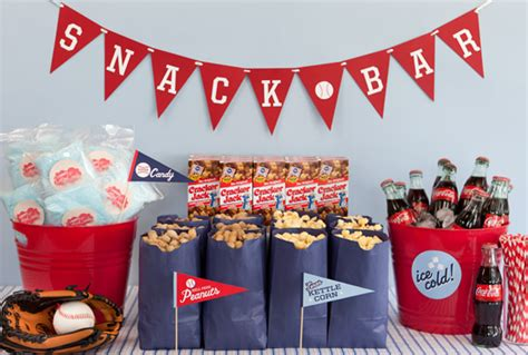 Baseball Birthday Party Inspiration  Love Of Family & Home