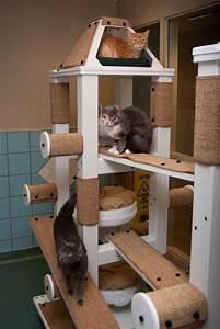16 cool diy cat trees meowlogy