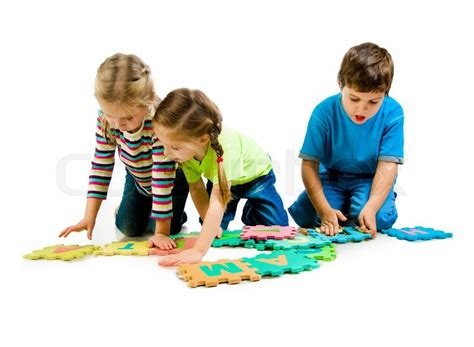 how to get to play in the background android children are letters on the white background