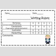 K Rubrics On Pinterest  Writing Rubrics, Rubrics And Kindergarten Writing Rubric
