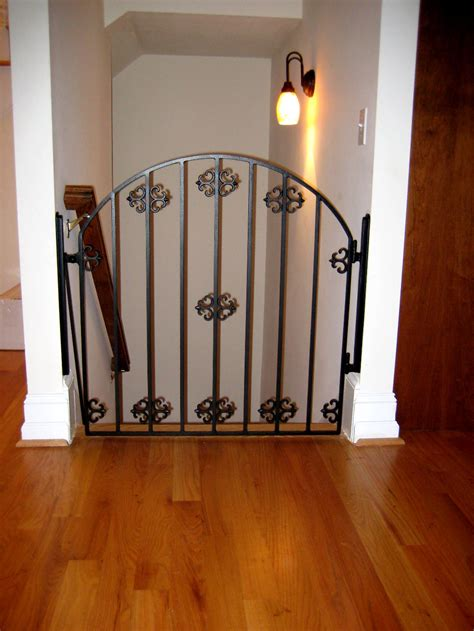 baby stair gate iron baby stair gate designs door stair design