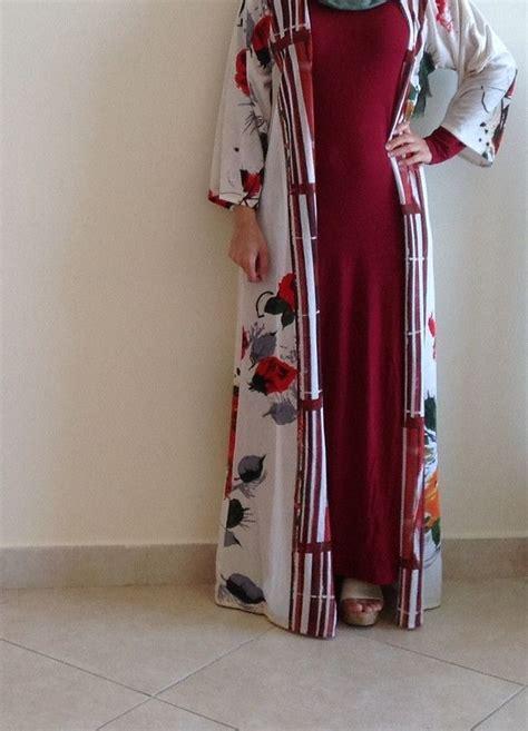 tropical kimonoabaya hijab fashion hijab fashion