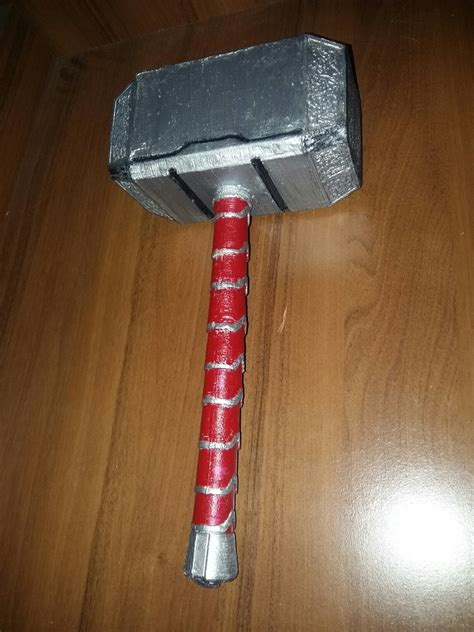 3d printable mjolnir thor 39 s hammer by reg taylor