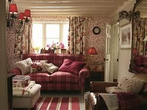 Verspielter Floraler Design Stil : wohnideen im englischen stil 10 beispiele ~ Watch28wear.com Haus und Dekorationen