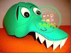 alligator visor printables alligator crafts alligator costume crocodile costume