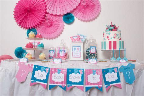 idée chambre bébé mixte baby shower mixte idées déco pour le buffet