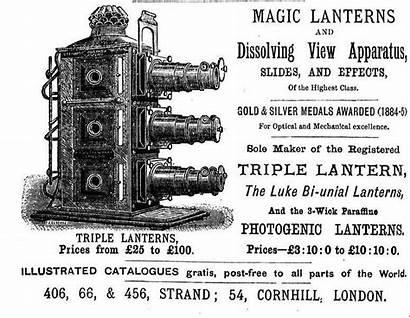 Lantern Slides Slide Magic Projector Archive 1886