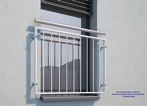 franzosischer balkon md 02ap pulverbeschichtet handlauf With französischer balkon mit alles für den garten günstig