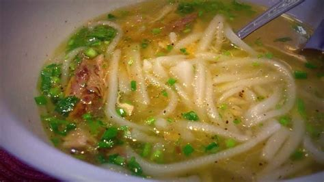 how to make chicken noodle soup from scratch how to make khao piak chicken noodle soup from scratch best asian noodles you will ever have