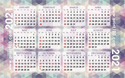 calendar card handy tiny calendar  calendar printing printcom hong kong