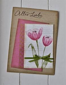 Stempel Dich Bunt : tulpen vintage tulips stampin up stampin up cards ~ Watch28wear.com Haus und Dekorationen