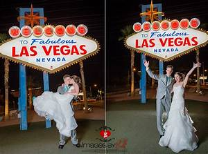 59 best las vegas strip wedding photos images on pinterest for Las vegas sign wedding