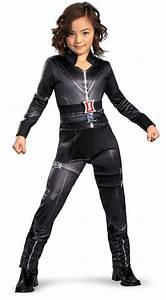 female superhero costumes for kids | girls black widow ...
