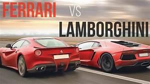Ferrari Vs Lamborghini : ferrari vs lamborghini the untold story youtube ~ Medecine-chirurgie-esthetiques.com Avis de Voitures