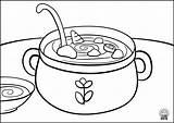 Coloring Navigation Soup2 sketch template