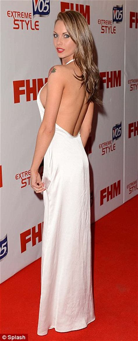braless jessica jane clement pops    backless