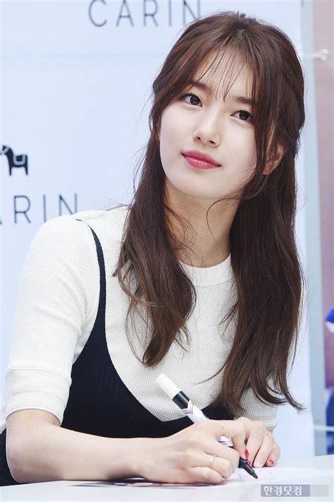 pin  chin wei chan  hairstyles   korean bangs