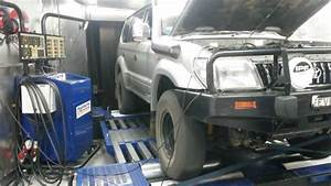 Toyota 3 4l Supercharged On Dyno  5vz-fe