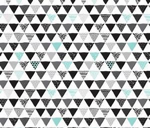 Geometric tribal aztec triangle blue modern patterns ...