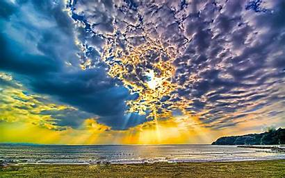 Sunny Beach Desktop 4k Wallpapers Sky Background