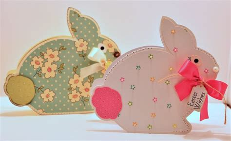 cutting cafe easter bunny shaped card template