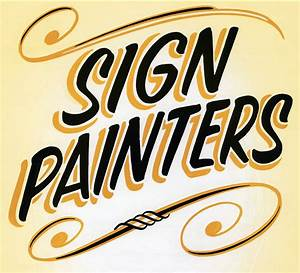 uniqueness of sign painting nuvonium With sign painting lettering