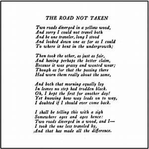 Road Not Taken Essay Symbol In Literature The Road Not Taken Essay  The Road Not Taken Essay In Tamil Full
