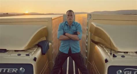 the volvo commercial jean claude van damme s volvo epic the commercial