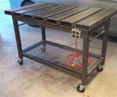 steel welding table plans welding table 5