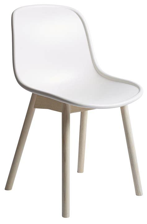 chaise pieds bois chaise neu plastique pieds bois blanc pieds bois hay