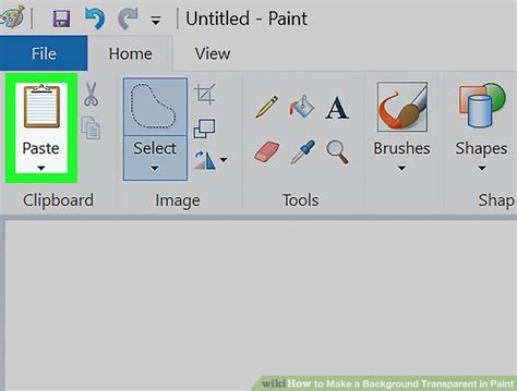 How To Make A Picture A Transparent Background How To Make A Background Transparent In Paint 12 Steps