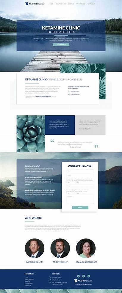 Web Website Modern Medical Layout Inspiration Websites