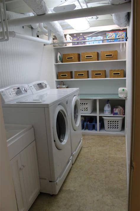 unfinished basement laundry room ideas october