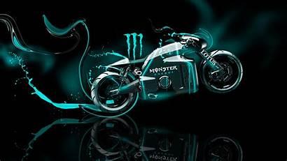 Monster Neon Energy Bike Wallpapers Lotus Fantasy