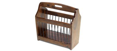 magazine rack cube sheesham magazine rack quercus living