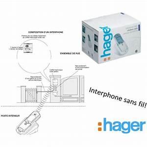 Sonnette Sans Fil Hager : hager kit interphone sans fil port e 400m platine de ~ Dailycaller-alerts.com Idées de Décoration
