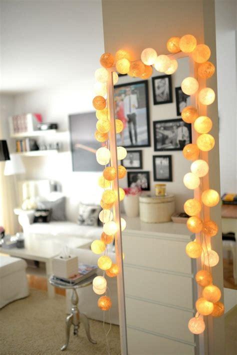 chambre à coucher originale beaucoup d 39 idées déco avec la guirlande lumineuse boule