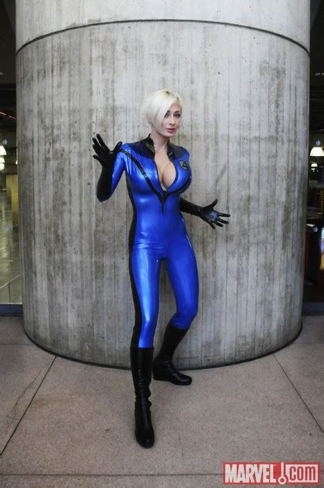 man marvel sue storm cosplay costume catsuits