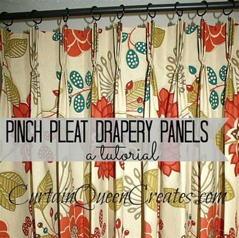 How To Measure For Pinch Pleated Drapes - best 25 pinch pleat curtains ideas on