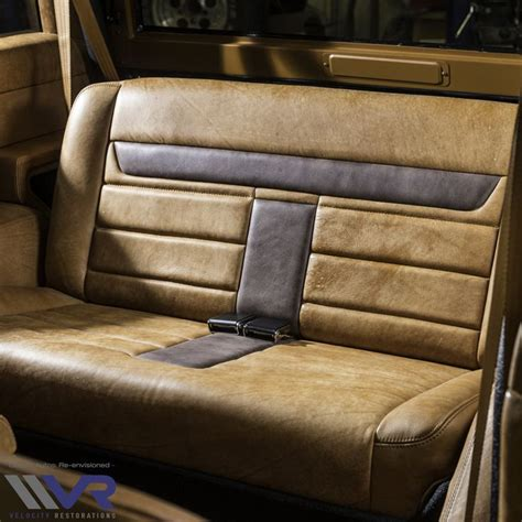 Shop our online catalog today! One off Custom Classic Ford Bronco interior for our recent ...