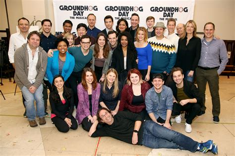 So, even though there's some repetition by reliving groundhog's day many times over, it's done in such a quick and clever way that keeps … Groundhog Day cast finishes show after stage issues   EW.com