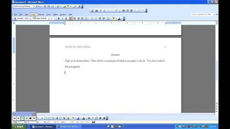 microsoft word apa template microsoft office apa 6th edition template
