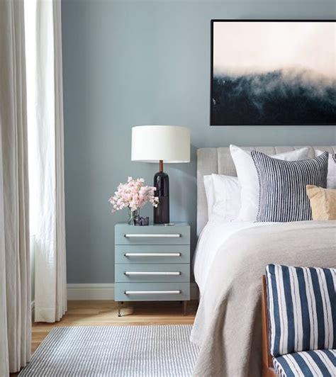 Chambre Gris Blanc Bleu 1001 Id 233 Es Pour Choisir Une Couleur Chambre Adulte